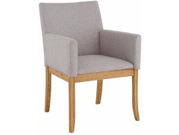 Home affaire Sessel »Diana«, beige, Bezug Struktur fein, FSC-Zertifikat, , , strapazierfähig, FSC®-zertifiziert