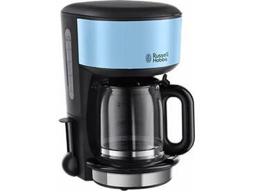 RUSSELL HOBBS Filterkaffeemaschine Colours Plus+ Heavenly Blue 20136-56, blau