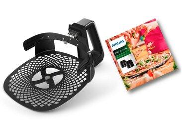 Philips Backeinsatz HD9953/00 Pizzablech, schwarz, Spülmaschinengeeignet, ,