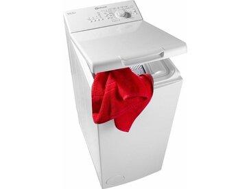BAUKNECHT Waschmaschine Toplader WAT Prime 550 SD, 5,5 kg, 1000 U/Min, Energieeffizienz: A++, Fassungsvermögen: 5.5 kg, weiß, Energieeffizienzklasse: A++