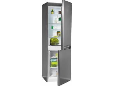 BAUKNECHT Kühl-/Gefrierkombination, 188,5 cm hoch, 59,5 cm breit, Energieeffizienz: A++ silber, Energieeffizienzklasse: A++