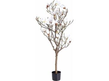 künstliche Blume, weiß, 10x120cm,