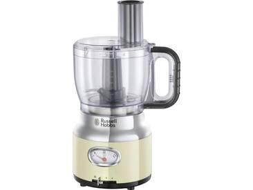 RUSSELL HOBBS Zerkleinerer Food Processor 25182-56 Retro, beige