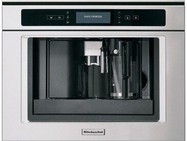 Einbau-Kaffeevollautomat KQXXX 45600, silber, KitchenAid