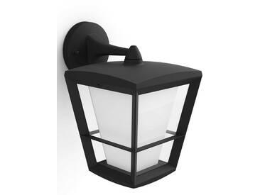 LED Außen-Wandleuchte , schwarz, 1 -flg. /, »Econic«, Energieeffizienzklasse: A+, Philips Hue