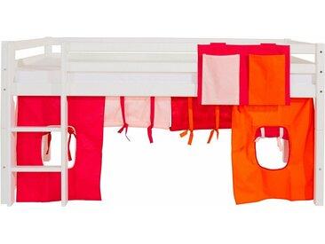 Hoppekids Vorhang-Set , rosa, »Multicolor«