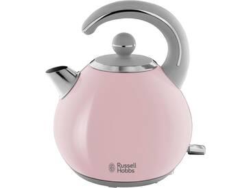 RUSSELL HOBBS Wasserkocher, Bubble Soft Pink 24402-70, 1,5 Liter, 2300 Watt, rosa