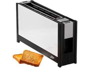 Toaster , weiß, »volcano 5 weiß«, Ritter