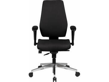 Bürostuhl »Darius«, schwarz, ohne Kopfstütze, strapazierfähig, Amstyle