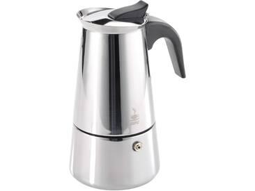 GEFU Espressokocher »EMILIO«, silber, Für 2 Tassen, spülmaschinengeeignet