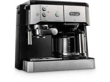 Siebträger-/Filterkaffeemaschine BCO 421.S, schwarz, DeLonghi