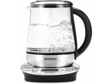 Wasserkocher Tea & More Advanced 42438, 1,5 l, 1400 W, silber, Gastroback