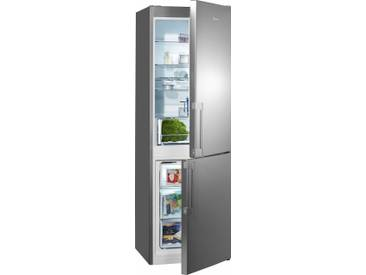 BAUKNECHT Kühl-/Gefrierkombination, 189 cm hoch, 59,5 cm breit, Energieeffizienz: A++ silber, Energieeffizienzklasse: A++