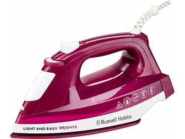 RUSSELL HOBBS Dampfbügeleisen Light&Easy Brights 24820-56 rot