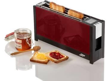 Toaster , rot, »volcano 5 rot«, Ritter