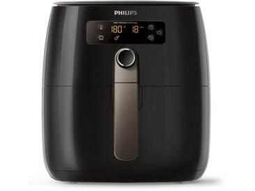 Philips Heissluftfritteuse HD9741/10 Airfryer Avance Collection, schwarz, spülmaschinenfest, ,