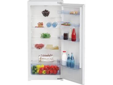 BEKO Einbaukühlschrank, 121,5 cm hoch, 54 cm breit, Energieeffizienz: A++, weiß, Energieeffizienzklasse: A++