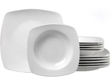 Tafelservice , weiß, Tafelservice 12tlg., spülmaschinenfest, Ritzenhoff & Breker