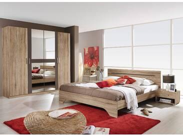 PACK´S Schlafzimmmer-Set »Rubi« grau, rauch