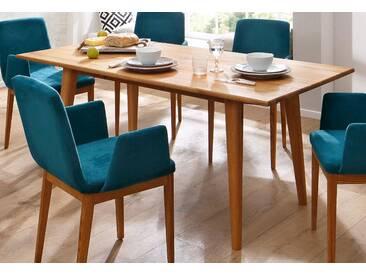 Home affaire Esstisch »Retro« braun, eckig, B/T/H, pflegeleichte Oberfläche, FSC®-zertifiziert