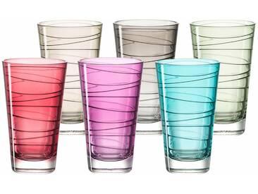 LEONARDO Gläser-Set »Colori« bunt, spülmaschinenfest