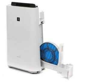 Kombigerät Luftbefeuchter und -reiniger KC-D60EUW Plasmacluster, weiß, Sharp