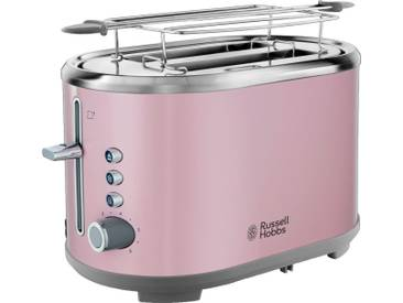 RUSSELL HOBBS Toaster Bubble Soft Pink 25081-56, rosa