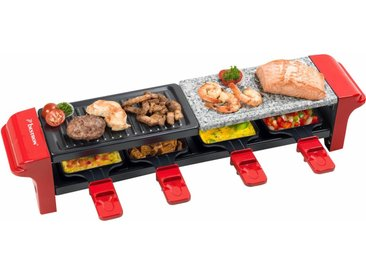 Raclette-Grill ARG400, rot, bestron