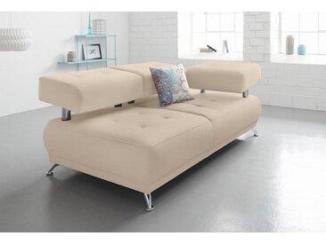 Chaiselongue , beige, 180cm, »Lina«, FSC®-zertifiziert, Bruno Banani