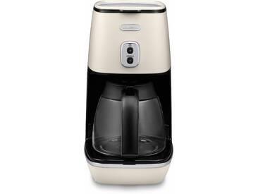 Filterkaffeemaschine Distinta ICMI211.W, weiß, spülmaschinenfest, DeLonghi