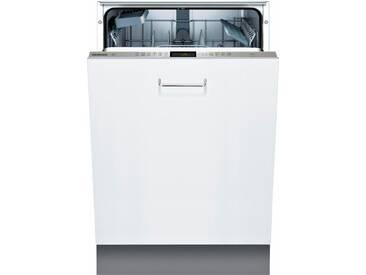 vollintegrierbarer Geschirrspüler, 9,5 Liter, 13 Maßgedecke, Energieeffizienz: A+++, grau, Energieeffizienzklasse: A+++, Constructa