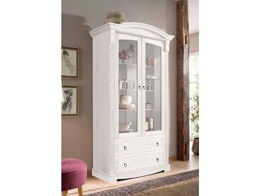 Home affaire Glasvitrine Höhe 187 cm »Anna«, weiß, FSC-Zertifikat, , , FSC®-zertifiziert
