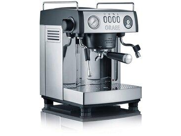 """Siebträgermaschine Espressomaschine """"baronessa"""" ES902EU, silber, Graef"""