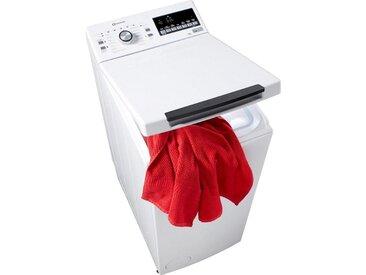 BAUKNECHT Waschmaschine Toplader WMT STYLE 722 ZEN, Fassungsvermögen: 7 kg, weiß, Energieeffizienzklasse: A+++