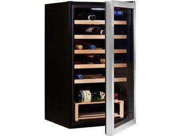 Weinkühlschrank 73952320, silber, Energieeffizienzklasse: A+, Hanseatic