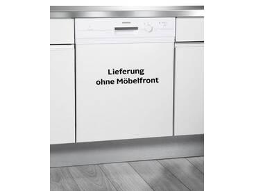 SIEMENS integrierbarer Geschirrspüler iQ100, weiß, Energieeffizienzklasse: A+