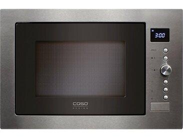 Einbau-Mikrowelle EMCG32, silber, Caso
