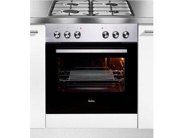 Gasherd-Set EHEG 933 100 E, silber, Energieeffizienzklasse: A, Amica
