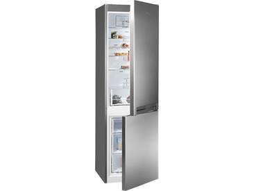 BAUKNECHT Kühl-/Gefrierkombination, 201,1 cm hoch, 59,5 cm breit, Energieeffizienz: A++ silber, Energieeffizienzklasse: A++