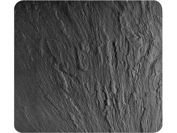 WENKO Herdabdeckplatte »Schiefer«, schwarz