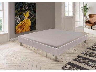 Bett »Easy«, grau, Rahmenhöhe 38 cm, 100x200cm, Wimex