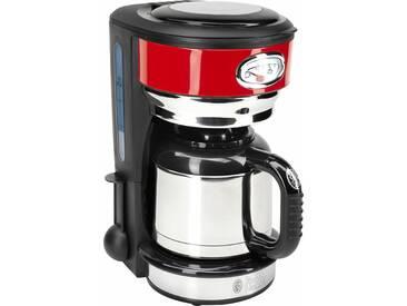 RUSSELL HOBBS Filterkaffeemaschine Retro Ribbon Red 21710-56, rot