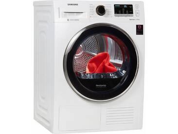 Wärmepumpentrockner DV5500 DV81M5210QW/EG, weiß, warm, , , Energieeffizienzklasse: A+++, Samsung