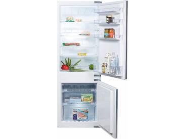 Einbaukühlgefrierkombination, 157,8 cm hoch, 54,5 cm breit, Energieeffizienz: A+, weiß, Energieeffizienzklasse: A+, Constructa