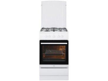 Gas-Standherd SHGG 11559 W, weiß, Energieeffizienzklasse: A, Amica