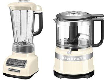 """Standmixer 5KSB1585EAC und Mini Zerkleinerer 5KFC3516, beige, zeitloses Design"""", , , KitchenAid"""