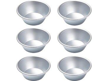 Muffinblech, silber, Ø 8,2cm, Höhe 3,2cm, Ø 8,2cm, Cynthia Barcomi