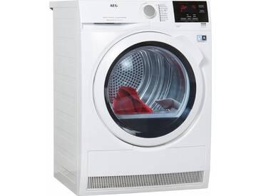 Wärmepumpentrockner LAVATHERM T8DB66580, weiß, Energieeffizienzklasse: A++, AEG