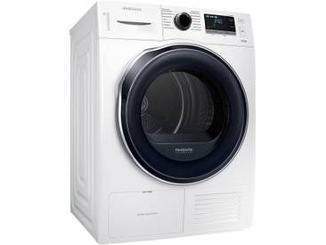 Wärmepumpentrockner DV6000 DV80K6010CW/EG, weiß, warm, , , Energieeffizienzklasse: A++, Samsung