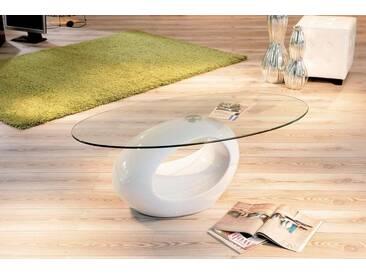 INOSIGN Couchtisch mit modernem Untergestell, weiß, »Pucci«, pflegeleichte Oberfläche